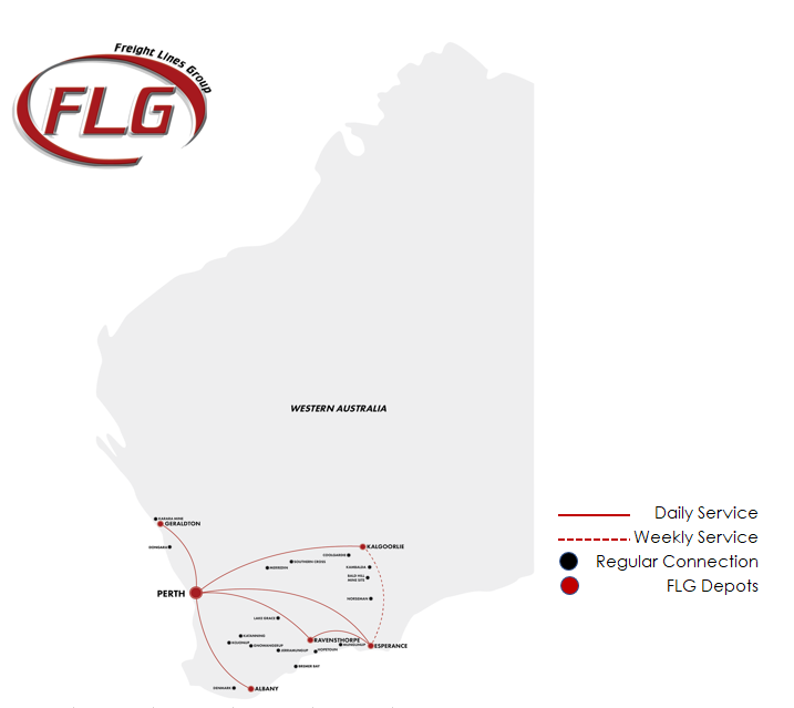 Freight Lines Group Routes